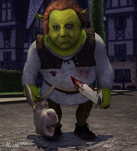 mike myers shrek mike myers michael myers worth1000 contests