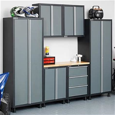 Garage Cabinets Costco Newage Products Metal Garage Cabinetry 187 Storage 187