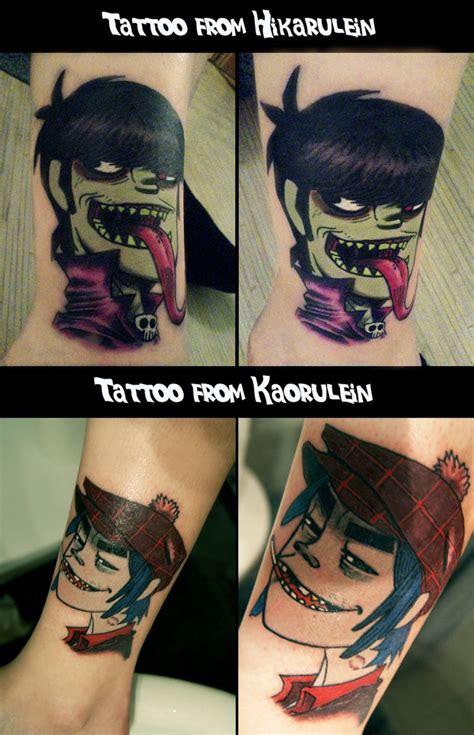 tattoo parlour tygervalley gorillaz tattoo murdoc and 2 d tattoos pinterest art