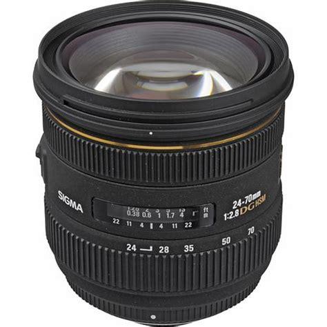 Sigma 70mm F 2 8 Ex Dg Af Macro sigma 24 70mm f 2 8 if ex dg hsm lens for nikon f 571306 b h
