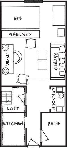 8x16 tiny house floor plan sle from the book tiny house 8x16 tiny house floor plan sle from the book tiny house