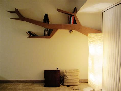 Tree Shelf Diy by Furniture 15 Creative And Clever Tree Branch Bookshelf