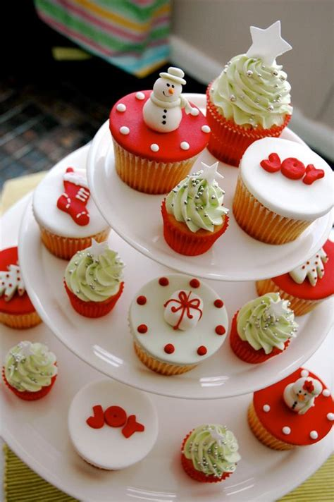 christmas cupcake decoration ideas xmas if only i could