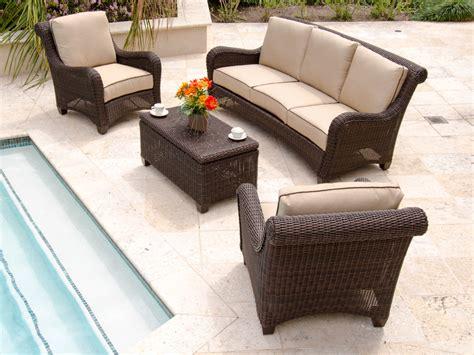 Malibu Seating Resin Wicker Furniture Outdoor Patio Woven Resin Wicker Patio Furniture