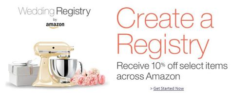 Wedding Registry Discount by Wedding Registry 10 Completion Gift Use For Up