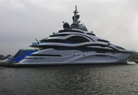 Timeless Designs project jupiter hits the water at lurssen yacht harbour