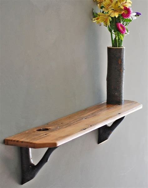 Branch Shelf Brackets by Branches Shelves And Wood Shelves On
