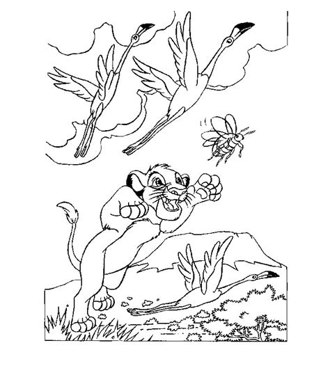 Free Coloring Pages Of Kovu The Lion King 2 The King 2 Coloring Pages