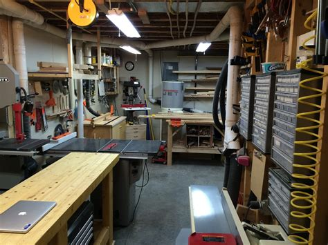 basement woodworking shop s basement workshop the wood whisperer