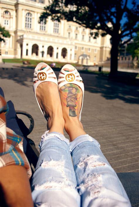 tattoo cat feet cat tattoo on foot tattoos pinterest cats cat