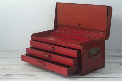 snap on tool box top cabinet vintage toolbox snap on 3 drawer top box vintage tool