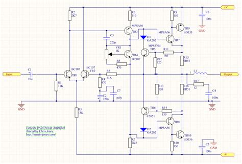 henelec pa25 power lifier and mu442 power supply martinjonestechnology