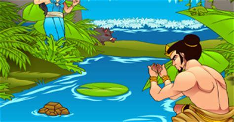 Legenda Dan Dongeng Nusantara Telaga Biru koloni dongeng legenda asal mula telaga biru