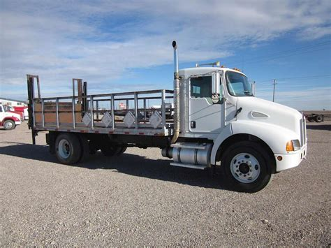 kenworth t300 for sale 2003 kenworth t300 flatbed truck for sale 245 027 miles