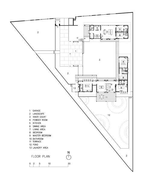triangle floor plan the triangle house by phongphat ueasangkhomset 23