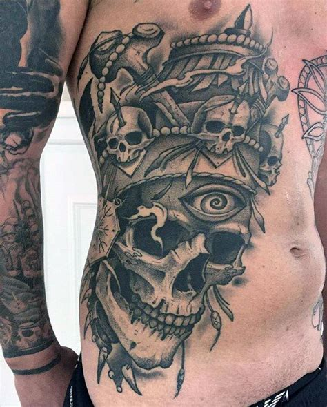 skull chest tattoos for men best 25 tattoos for guys badass ideas on arm