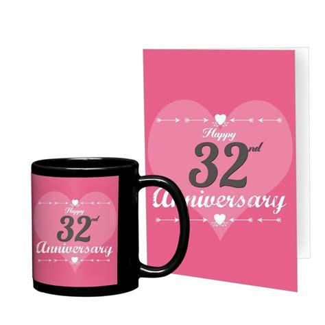 32nd Marriage Anniversary Gift for Parents, Father, Mother