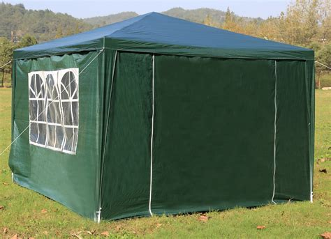backyard marquee 3x3m gazebo outdoor marquee tent canopy green