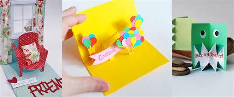 pop up card ideas 20 pop up card ideas craft paper scissors