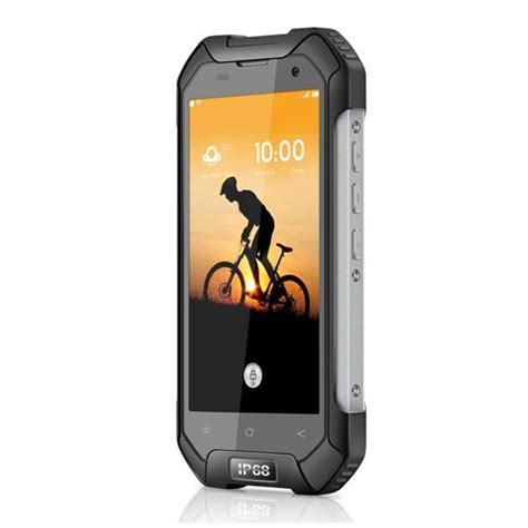 Blackview Bv6000s Waterproof Android 6 0 Octa 4g Lte 2gb Ram 16 D blackview bv6000s 2gb 16gb rugged smartphone black