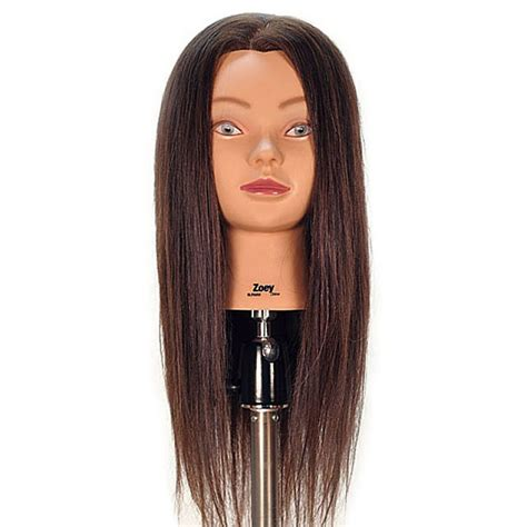 100 Human Hair Mannequin by Zoey 24 Quot 100 Human Hair Cosmetology Mannequin By