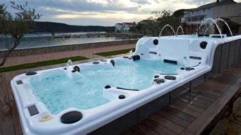 Hot sale Balboa system ass massage hot tub with tv(SR859) purchasing, souring agent   ECVV.com