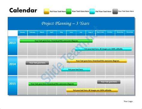 Powerpoint Schedule Template 8 Free Word Excel Ppt Format Download Free Premium Templates Free Project Plan Template Powerpoint
