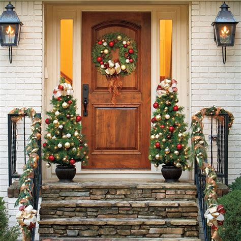 How To Decorate A Bow Window outdoor christmas decorations for a livelier and more