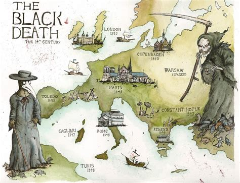 black death what made a plague become the black death