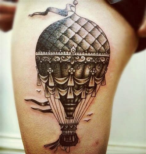 hot air balloon tattoo designs 17 best images about tatoo montgolfiere on