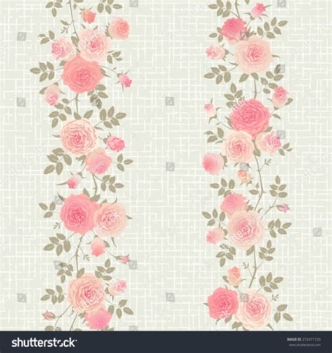 english rose pattern vector seamless floral pattern branches of english roses on a
