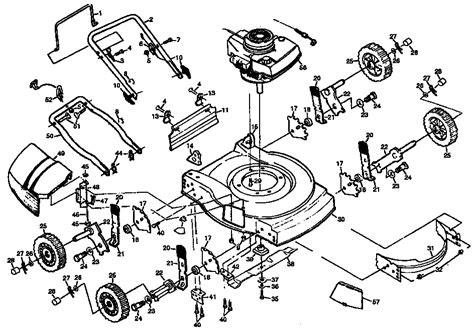 lawn mower part diagram craftsman lawn tractor parts diagram wiring diagram and