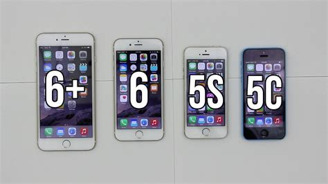 V Iphone 6 Iphone 6 Plus Vs 6 Vs 5s Vs 5c Comparison