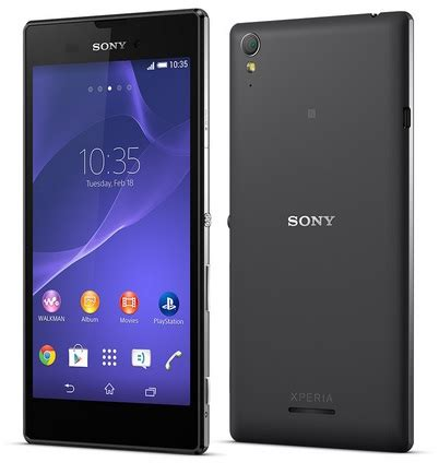 Hp Sony Paling Tipis sony xperia t3 hp android canggih dan tipis