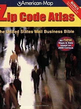 american map corporation american map united states zip code atlas by american map
