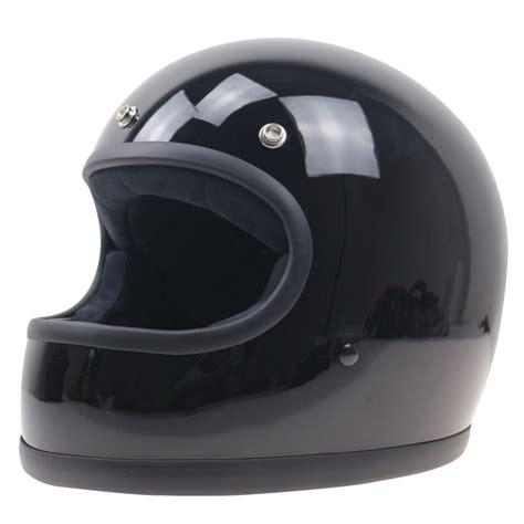 Helm Retro Type Maroon simple style vintage helmet custom made motorcycle helmet retro motor helmet in