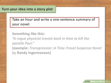 how to write a plot for a book report how to plot a story with exles wikihow