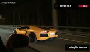 Lamborghini Aventador Vs Nissan Gtr Lamborghini Aventador Lp700 4 Vs Nissan Gt R Ecutek