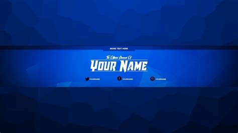 youtube channel art template free youtube intended for
