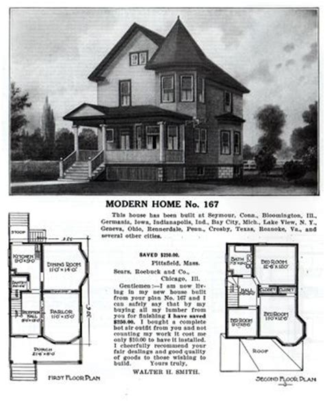 the kenmoor kit house floor plan made by the aladdin the sears home modern home no 167 exterior sears