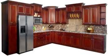 Cherry Cabinet Kitchens Sinks