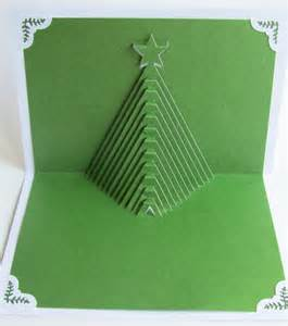 Christmas tree pop up home d 233 cor 3d handmade cut by hand origamic