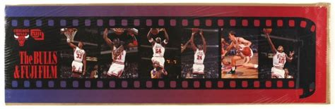 Chicago Bulls Giveaways - item detail 1990 s chicago bulls fuji film stadium giveaway poster michael jordan 12