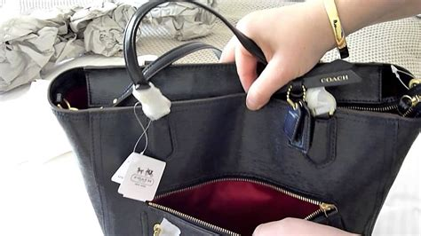 Coach Karee Leather Purse by Coach Poppy Blaire Tote Bag Review Patent Leather Handbag