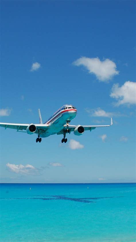 wallpaper iphone airplane airplane landing iphone 5 wallpaper スマホ壁紙 iphone待受画像ギャラリー