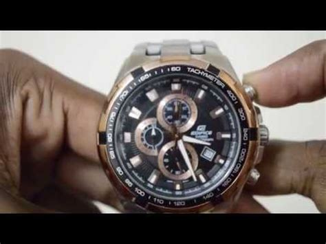 Edifice Ef 539 Rosegold Combi vote no on casio edifice ef 539d 1a