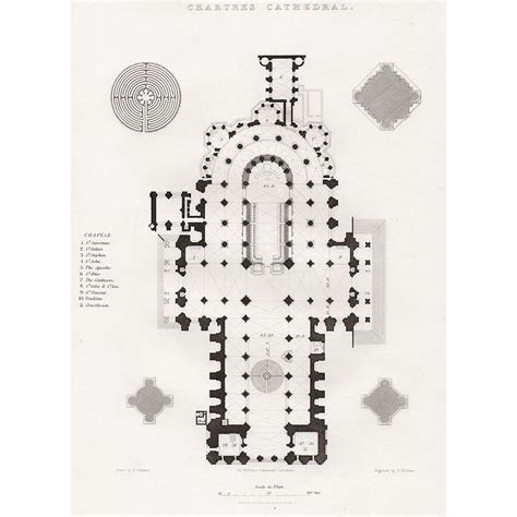 chartres cathedral floor plan chartres cathedral floor plan gallery for gt chartres