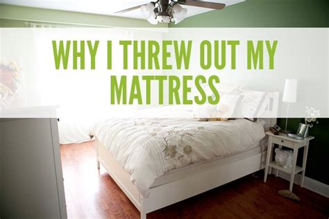 Throwing Out A Mattress by Non Toxic Sleep With Intellibed Healthful Pursuit