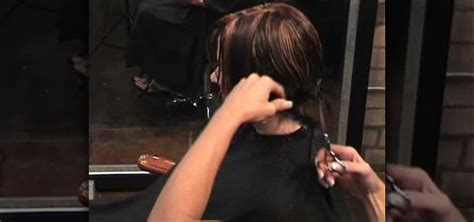 how to cut a asymmetrical bob on yourself how to cut an asymmetrical angled a line bob hairstyle