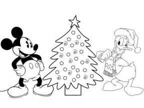 Disney Coloring Pages Mickey Mouse And Donald Duck Make Mickey Mouse Tree Coloring Pages